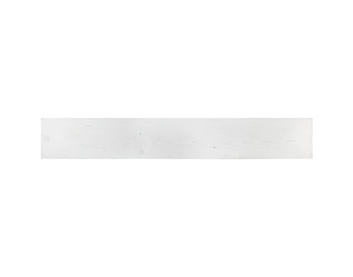 [MCH.PAN.0039] PANEL DECORATIVO MADERA DE PINO COLOR BLANCO (13×90cm)